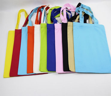 Simple Canvas Give away Shopping Bag ( CK042)