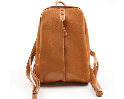 offering Pu leather backpack
