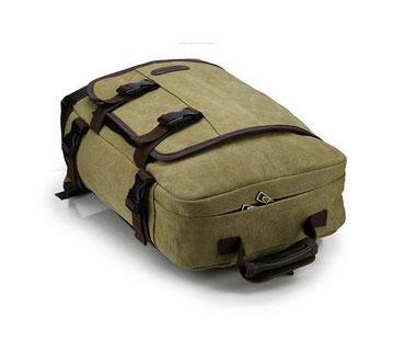 Offering fashion canvas backpack bag (N50018)
