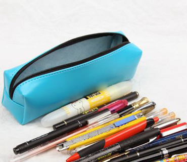 Offering Pu leather pencil b