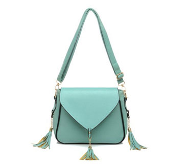 Fashion Cross body ladies messenger bag with tassels ( H8031
