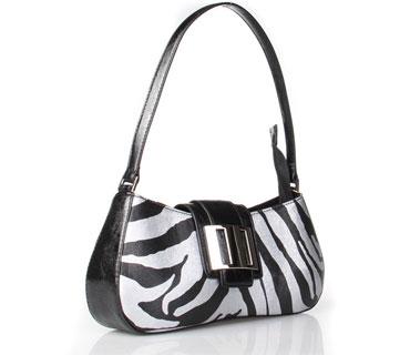 Zabra print Satchel Bags ( h