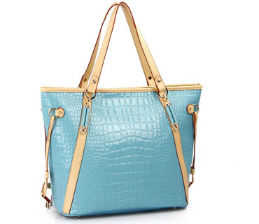Alligator leather ladies tot