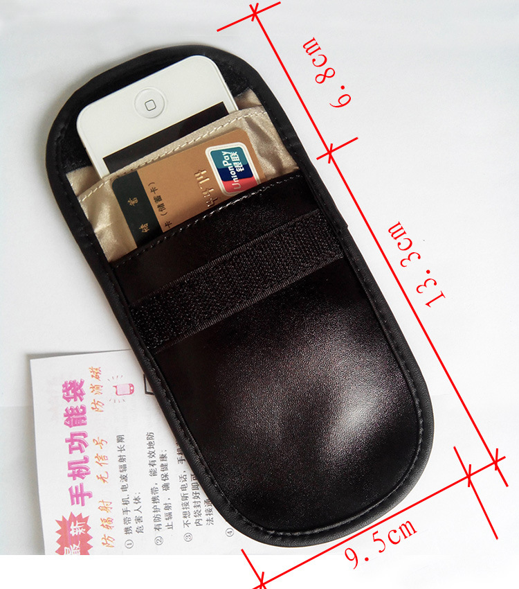 Cheap Pu Leather RFID Blocki