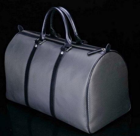 Carber fiber travel duffel (
