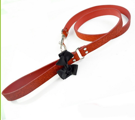 Pet/ dog leather collar and