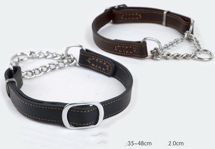 Cheap pet /dog  leather belt