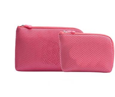 Digital Zipper Mesh bag