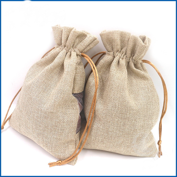Eco- friendly Jute Drawstrin